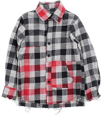 MAGILLA BOY Camisa EN Franela A Cuadros NIÑO 52810300 Gris Tamaño: 4A 104cm: Amazon.es: Ropa y accesorios