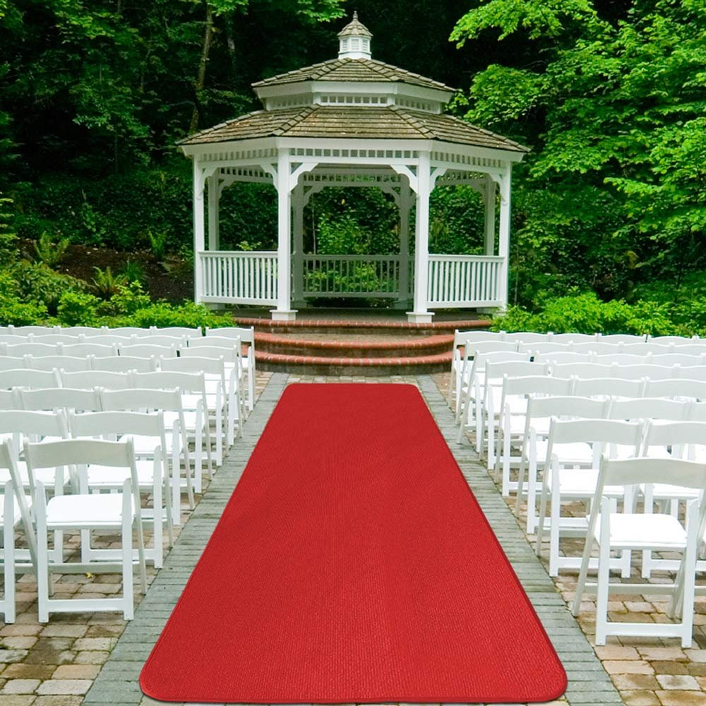 Many Other Sizes to Choose From FBA/_764842720105 Many Other Sizes to Choose From Home and More Red Carpet Aisle Runner House 3/' x 15/' Home and More Red Carpet Aisle Runner 3 x 15