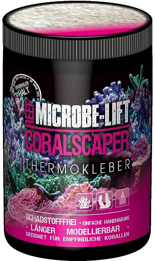 Microbe-Lift 9141-M Coralscaper - Coral Adhesivo térmico para Acuario de Agua Salada