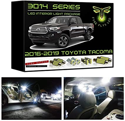 Vanity Reverse 21 pcs LED for Toyota Sequoia Interior License plate // Tag