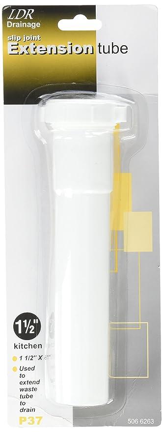 LDR 506 6263 1-1/2-Inch by 8-Inch PVC Slip  sc 1 st  Amazon.com & LDR 506 6263 1-1/2-Inch by 8-Inch PVC Slip Extension Includes Nut ...