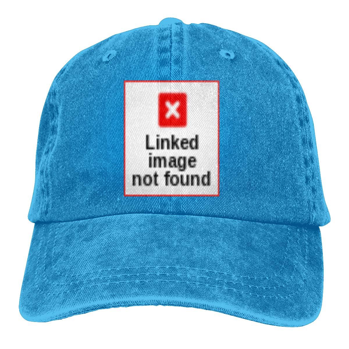 Adult Unisex Cowboy Cap Adjustable Hat Gorilla Cotton Denim