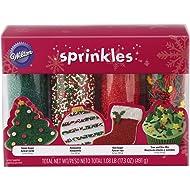 Wilton Holiday Sprinkles 4-Pack