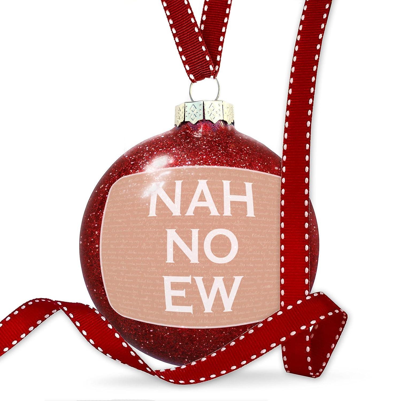 Amazon.com: Christmas Decoration Nah No Ew Valentine\'s Day I Love ...