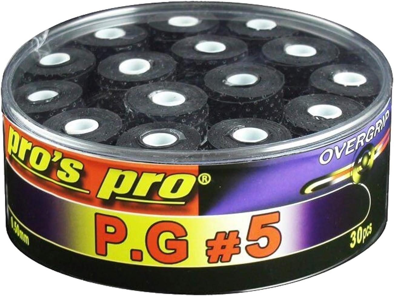 Pro Pros Overgrip P.G.5 Perforated 30 Piezas Mangos de Raqueta ...