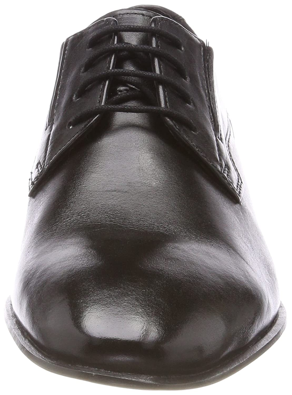 Mens-Lace-Up Schwarz 650504-1