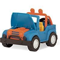 Wonder Wheels by Battat VE1021Z - 4 X 4 - Blue Off-Road Toy Truck with Spare Tire & Detailed Engine for Toddlers Age 1…