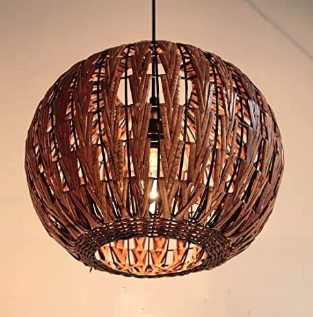 Haixiang tropical bamboo chandelier diy wicker rattan lamp shades haixiang tropical bamboo chandelier diy wicker rattan lamp shades weave hanging light round mozeypictures Gallery