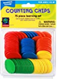 Eureka Learning Playground Hands On Learning, 75 Counting Chips (487120) - DISCONTINUED by Manufacturer