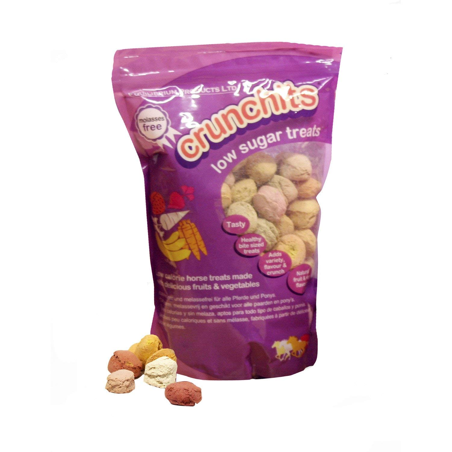 Equilibrium Crunchits Horse Treats 750g Multicoloured by Equilibrium Technologies