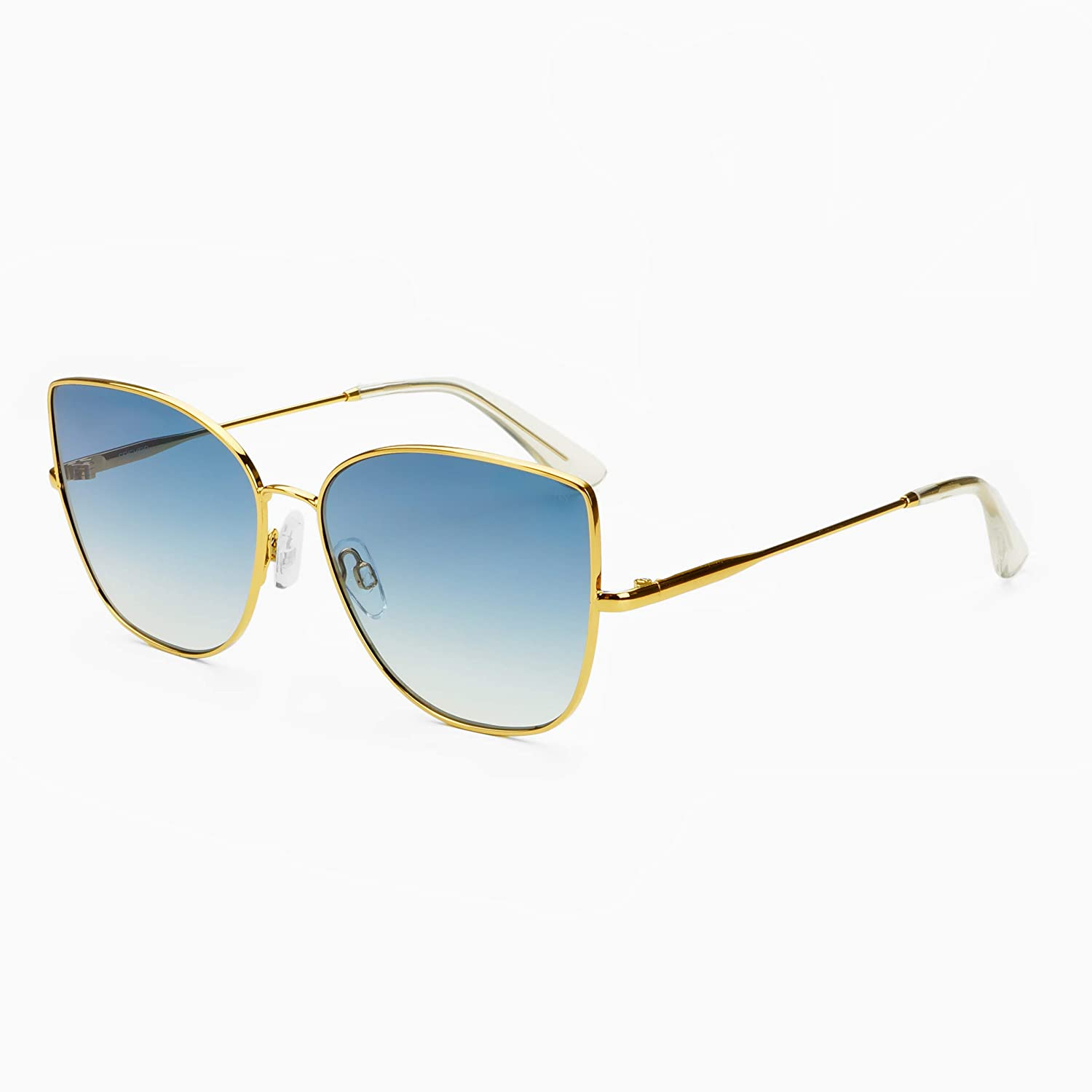 Amazon.com: FREYRS Emma Gato Eye Gafas de sol, M: Clothing