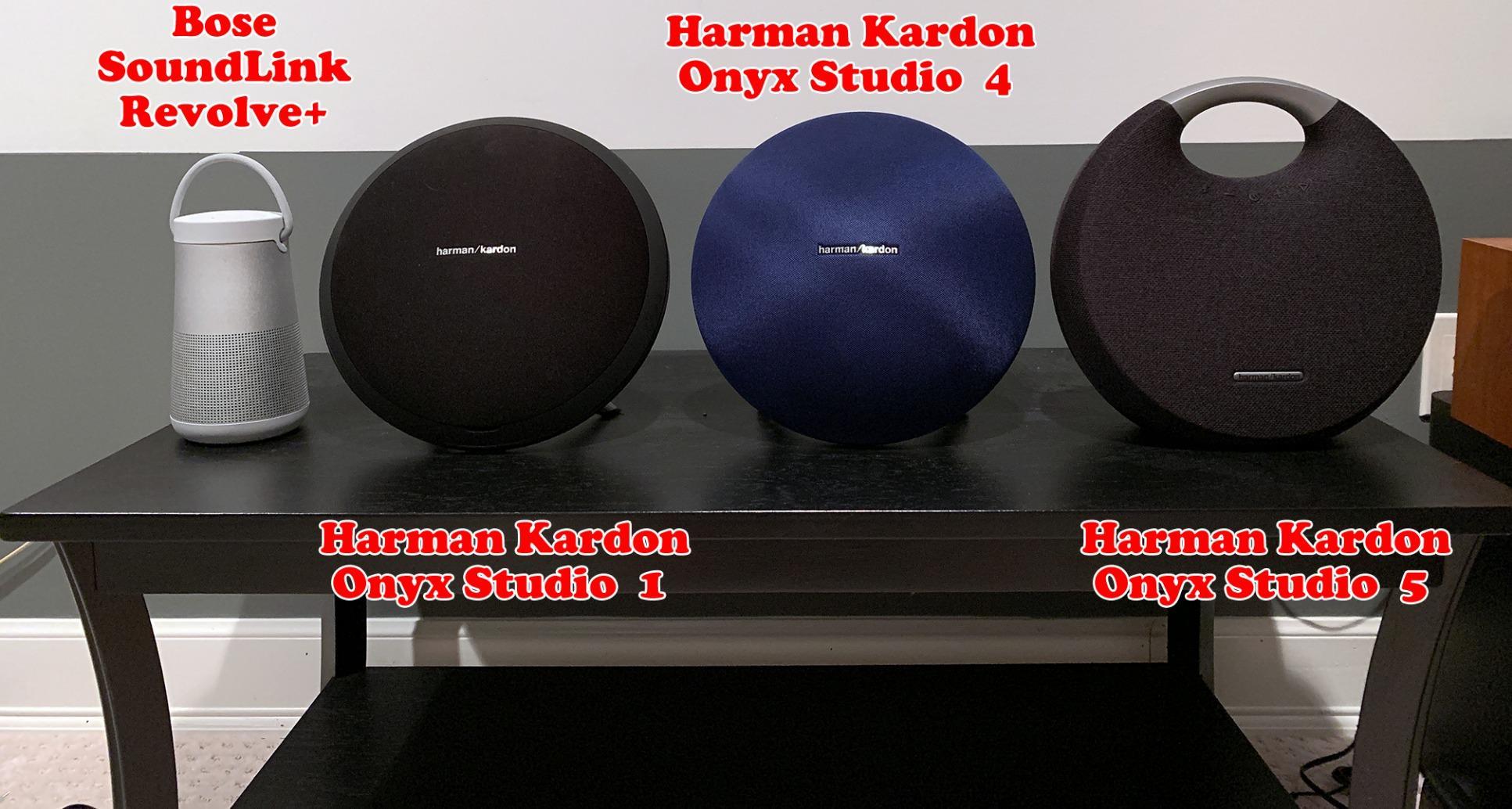 Harman Kardon Onyx Studio 5 Bluetooth Wireless Speaker (Onyx5