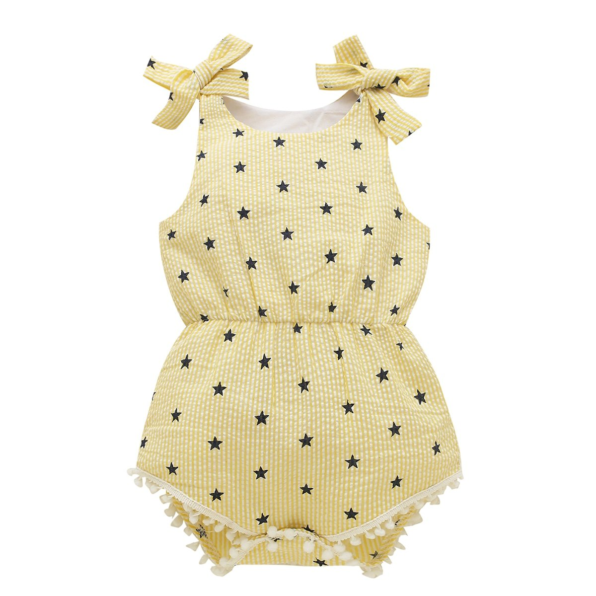 BOBORA Baby Girls Kids Cotton Clothes Sisters Matching Clothes Rompers Outfits Set BON-N-1615