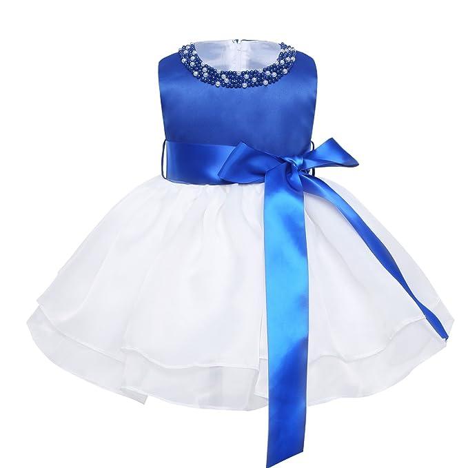 Freebily Vestido de Princesa para Niña Bebé (0 a 9 Meses) Recién Nacido Vestido