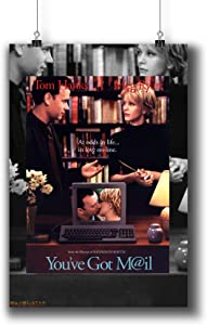 You've Got Mail (1998) Movie Poster Small Prints 966-002,Wall Art Decor for Dorm Bedroom Living Room (A3|11x17inch|29x42cm)