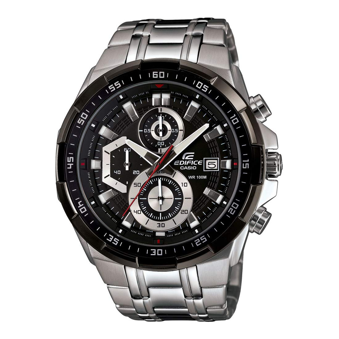 15dd63868256 Buy Casio Edifice Chronograph Black Dial Men s Watch - EFR-539D-1AVUDF  (EX191) Online at Low Prices in India - Amazon.in