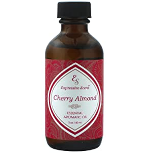 Expressive Scent 1 Pack Cherry Almond 2oz Scented Home Fragrance Essential Oil