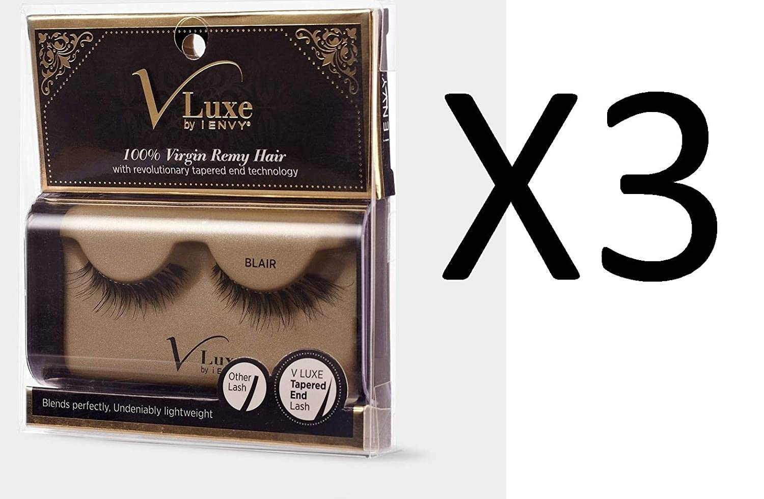 Amazon Value Pack Of 3 V Luxe By Ienvy 100 Virgin Remy Hair