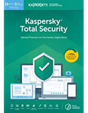 Kaspersky Total Security 2020   10 Devices   1 Year   PC/Mac/Android   Online Code