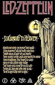 Buyartforless Led Zeppelin Stairway to Heaven 36x24 Music Art Print Poster Wall Decor Classic Image