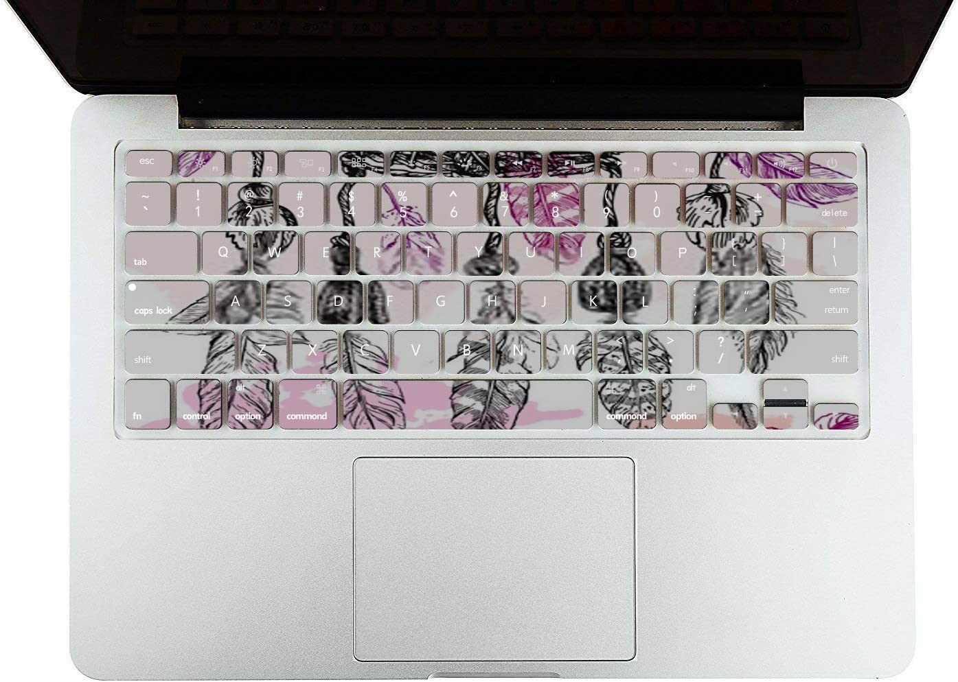 MacBook Pro Case Beautiful Hand Drawn Illustration Dreamcatcher MacBook Air 13 A1369//A1466 Plastic Case Keyboard Cover /& Screen Protector /& Keyboard