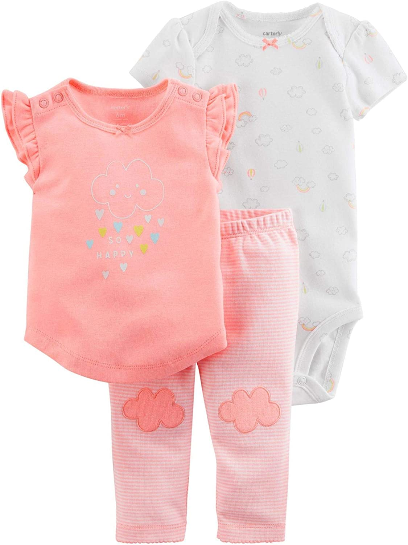 Pink Wrangler W44118406 Baby Girls Long Sleeve Onesie