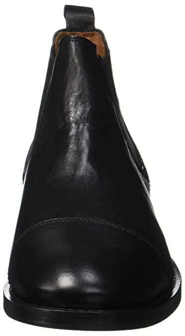 Black Ten Chelsea Boots Homme Points Schwarz 42 EU Oskar WZTq4SZC