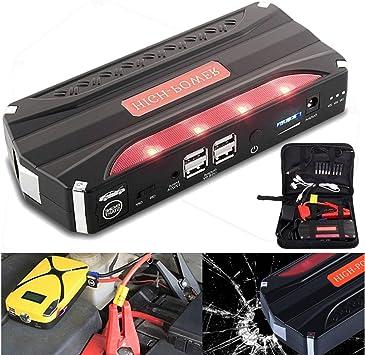 CQ/&WL 89800mAh Multifunction Car Jump Starter 12V 4USB 600A Portable Car Battery Charger Emergency Starting Power Bank Tool Kit
