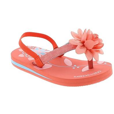 23348c198893 Amazon.com  CRABBYCLAWS Womens Flower (Toddler Little Kid Big Kid ...