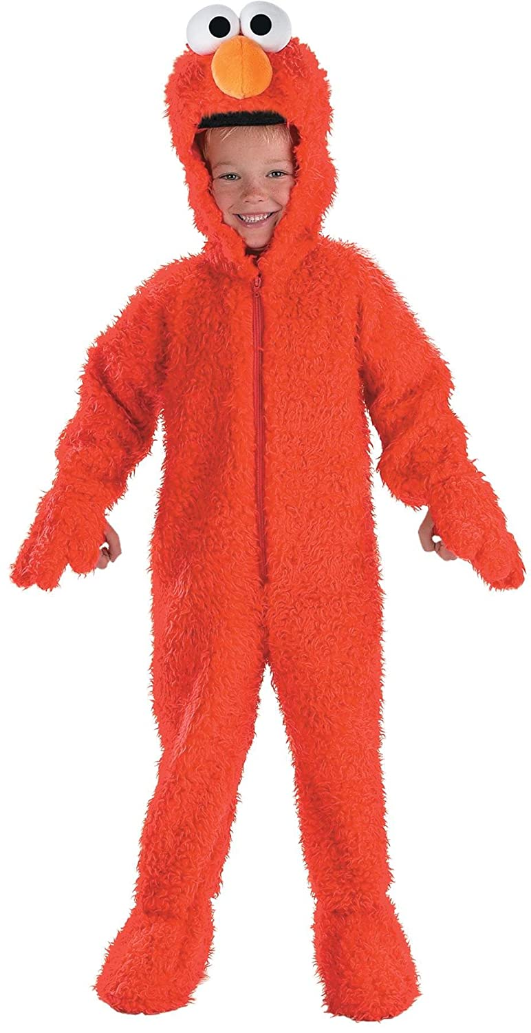 amazoncom elmo deluxe plush clothing - Halloween Stores In Albany Ny