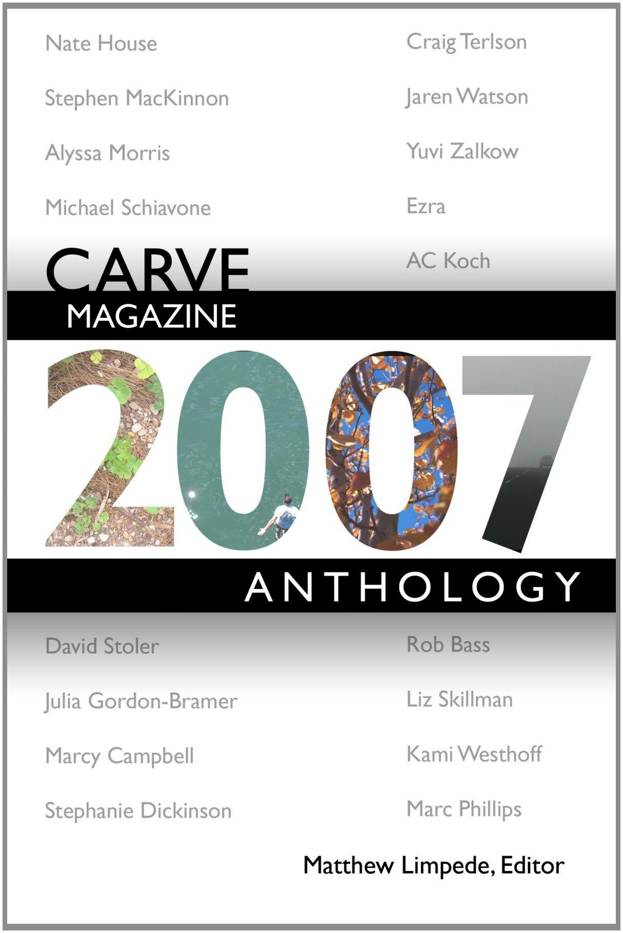 Carve Magazine 2007 Anthology pdf epub
