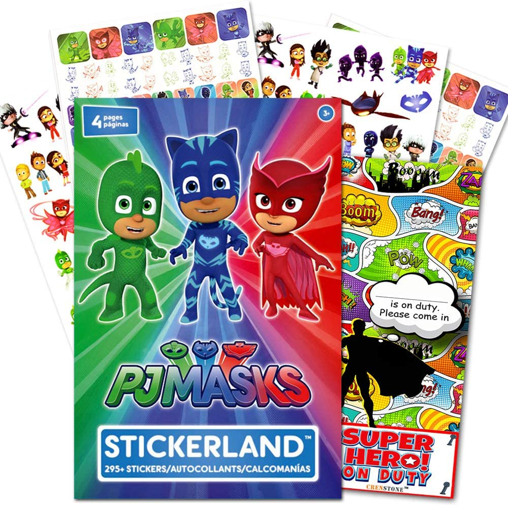 Amazon.com: PJ Masks paquete de pegatinas para suministros ...