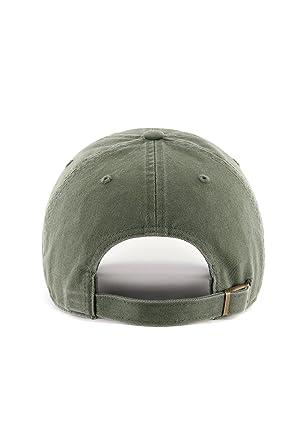 Gorra de béisbol Clean Up Boston Red Sox de 47 Brand - Verde Oscuro -  Ajustable  Amazon.es  Ropa y accesorios 92104d977fc