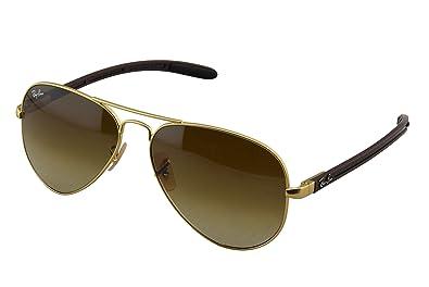 34bdbf288b8 ... promo code for ray ban mens rb8307 029 71 aviator carbon fibre oval  sunglassesmatte cb80b 7a285