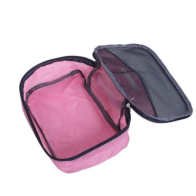 Amazon.com: eDealMax Malla Limpieza en seco de la ropa Interior organizador del almacenaje de la Bolsa de 26cm x 18cm Rosa: Kitchen & Dining