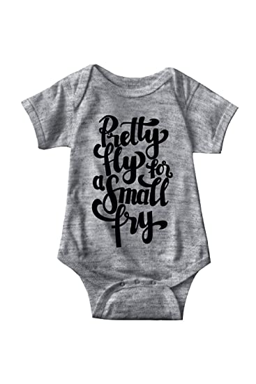 01c10b8b2 Amazon.com: Sarcastic ME Pretty Fly for A Small Fry Unisex Infant Onesie  Funny Hilarious Baby Gift: Clothing