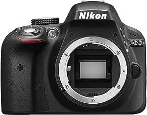 NIKON D3300 DSLR Digital Body D3300 DX-Series 24.2MP SLR Camera with 3.0-Inch TFT LCD, Body Only (Black)
