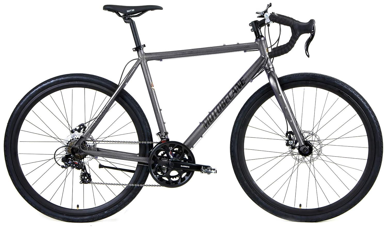 fdd8f277c00 Amazon.com : Motobecane Gravel X1 Disc Brake Super Road Bike : Sports &  Outdoors