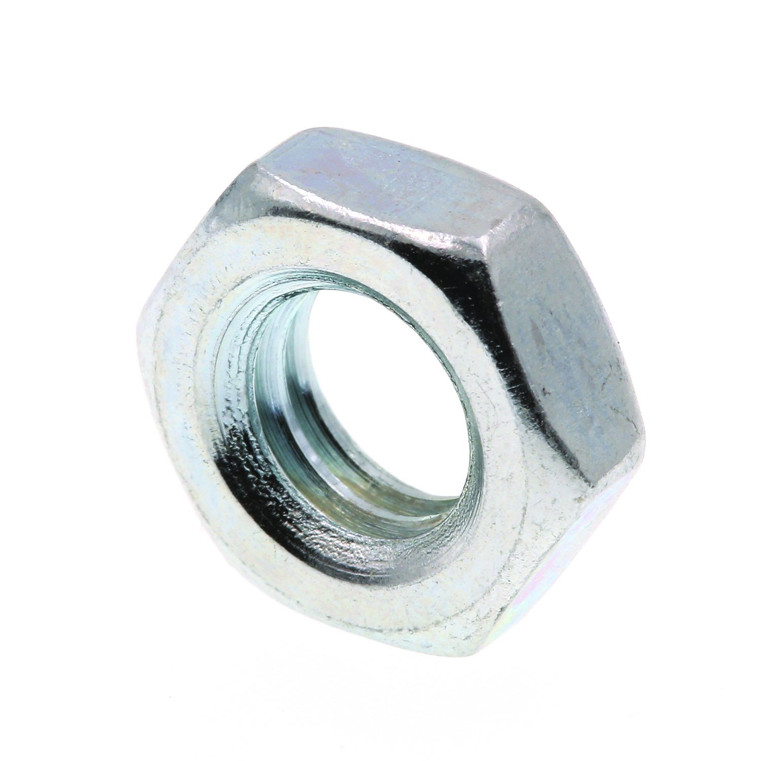 100-Pack A563 Grade A Zinc Plated Steel 5//16 in.-18 Prime-Line 9075866 Hex Jam Nuts