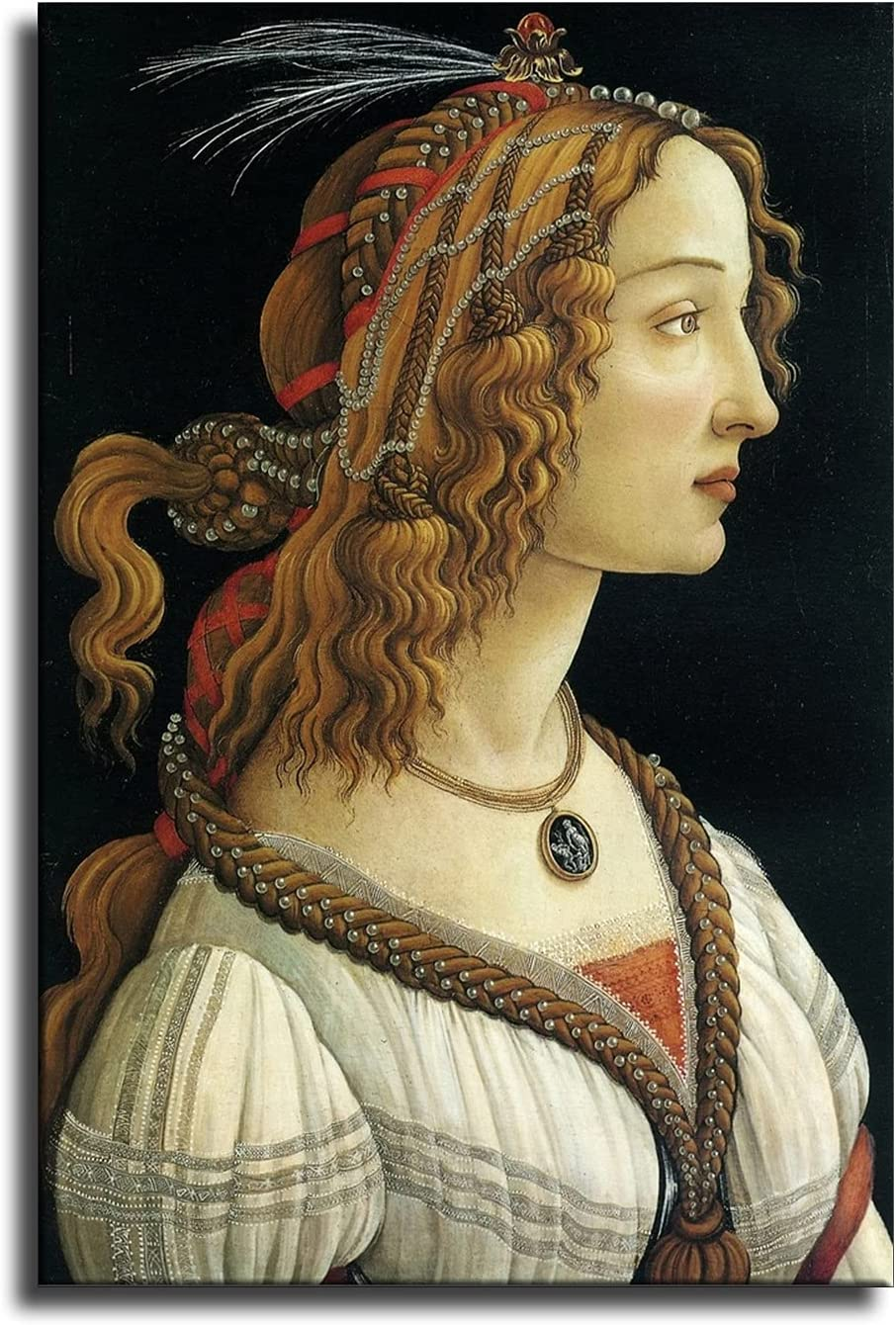 Posters Art Renaissance Classic Room Decor Wall Decor Paintings (Unframed,20x30inch)