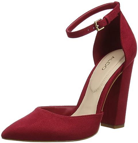 50237662aafb Aldo Women s Nicholes Ankle Strap Heels  Amazon.co.uk  Shoes   Bags