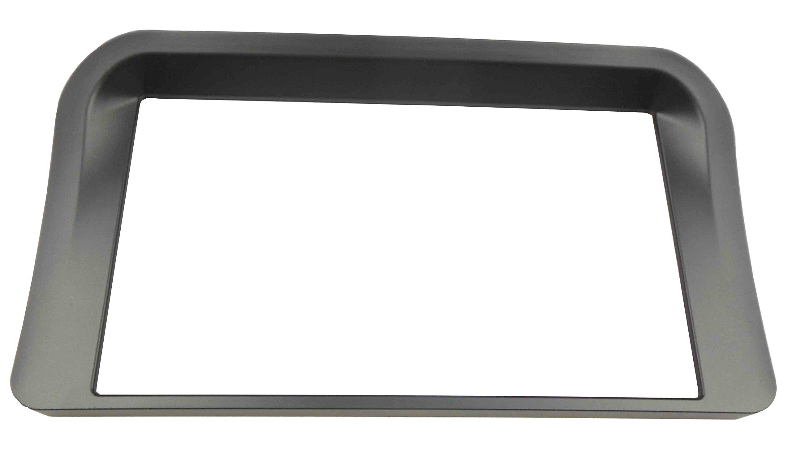 DKMUS Double Din Radio DVD Stereo Frame for Lexus Lx-470 2002-2008 Toyota Lc-100 1998-2003 Dash Trim Kit Fascia Inner Size 173*98mm Black