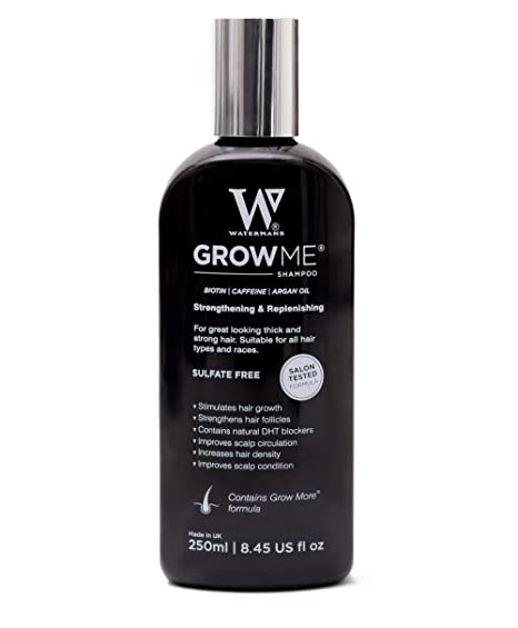 Best Hair Growth Shampoo Sulfate Free Caffeine Biotin Argan Oil