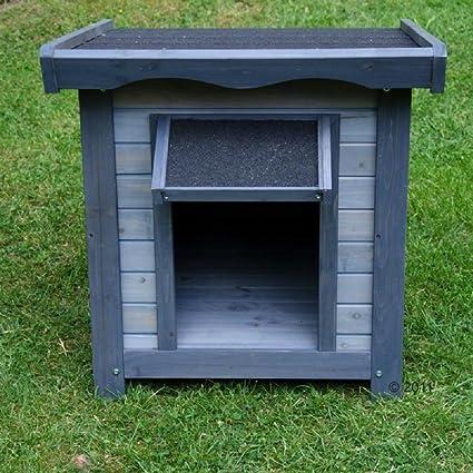 Caseta para perro, diseño básico para exteriores.: Amazon.es: Productos para mascotas