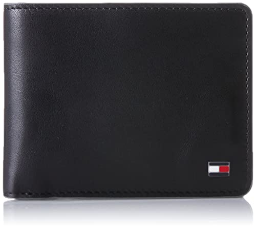 Tommy Hilfiger Ho Contrast Edge Mini CC Wallet Kyfb Box, Bolsa y Cartera para Hombre