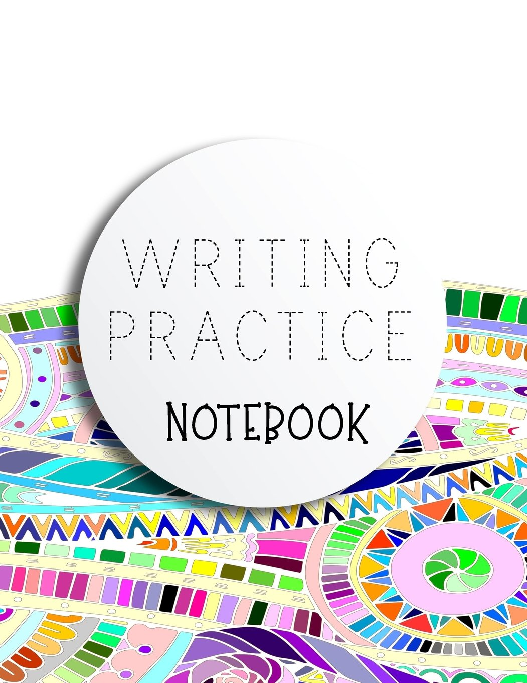 """Download Writing Practice Notebook: Letter Tracing Practice Book For Preschoolers, Kindergarten (Printing For Kids Ages 3-5)(1"""" Lines, Dashed) ebook"""