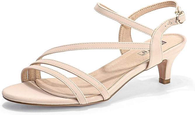 Kitten Heel Dress Sandals