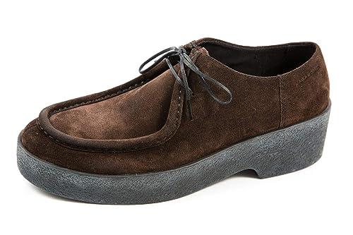 Vagabond VB-093-4240-040 - Mocasines de Ante para Mujer Marrón marrón 36.5, Color Marrón, Talla 36.5: Amazon.es: Zapatos y complementos
