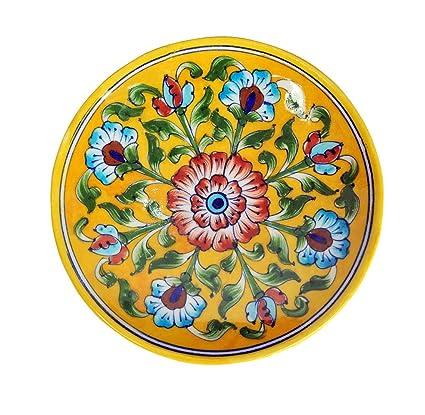 Ceramic Plates Wall Decor Diwali Decoration Items For Home 6 X 1.3 Inch  sc 1 st  Amazon.in & Buy Ceramic Plates Wall Decor Diwali Decoration Items For Home 6 X ...