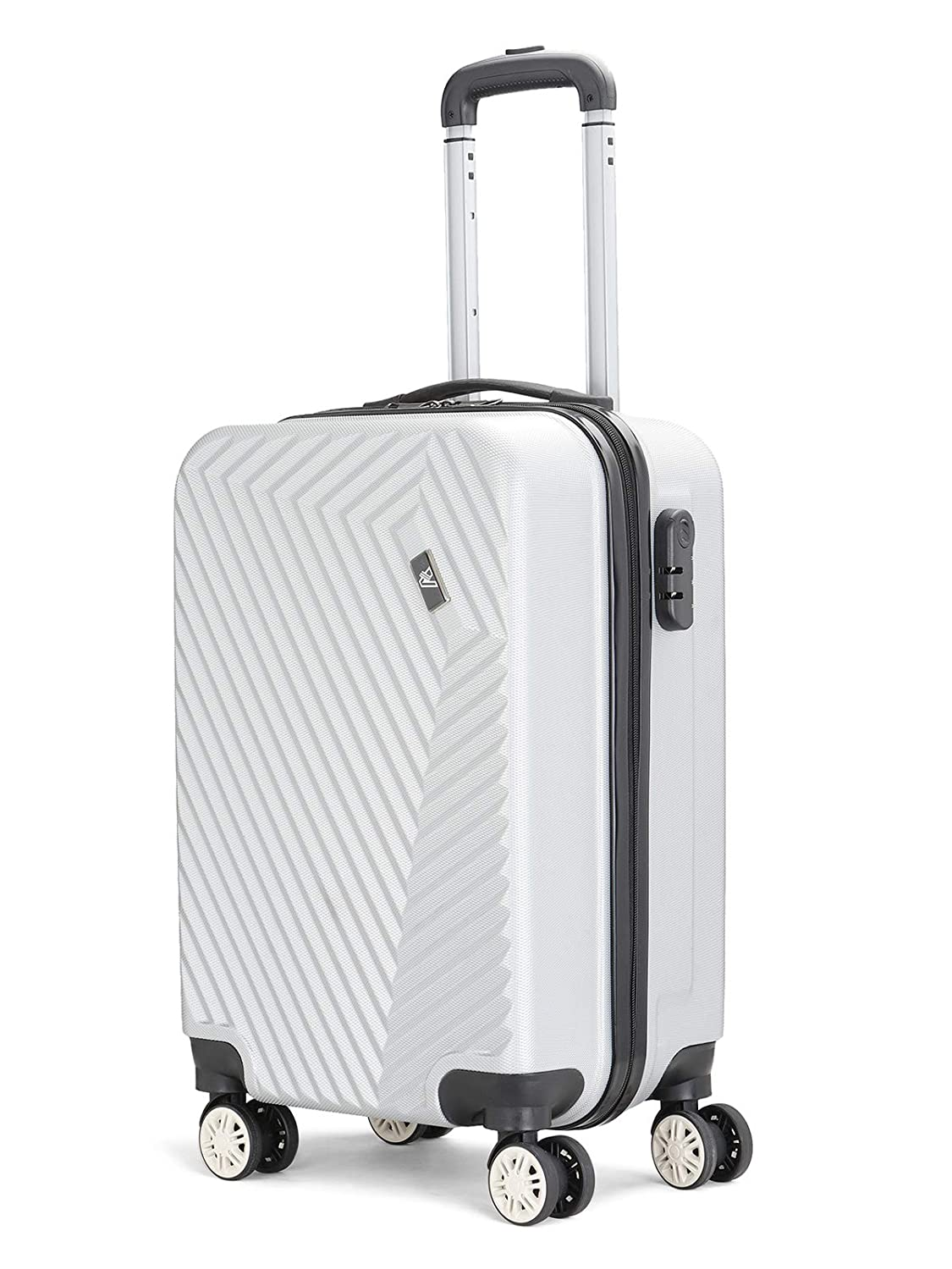 56 cms Cabin/Carry-on 8 Wheels Hard Suitcase Spinner Luggage
